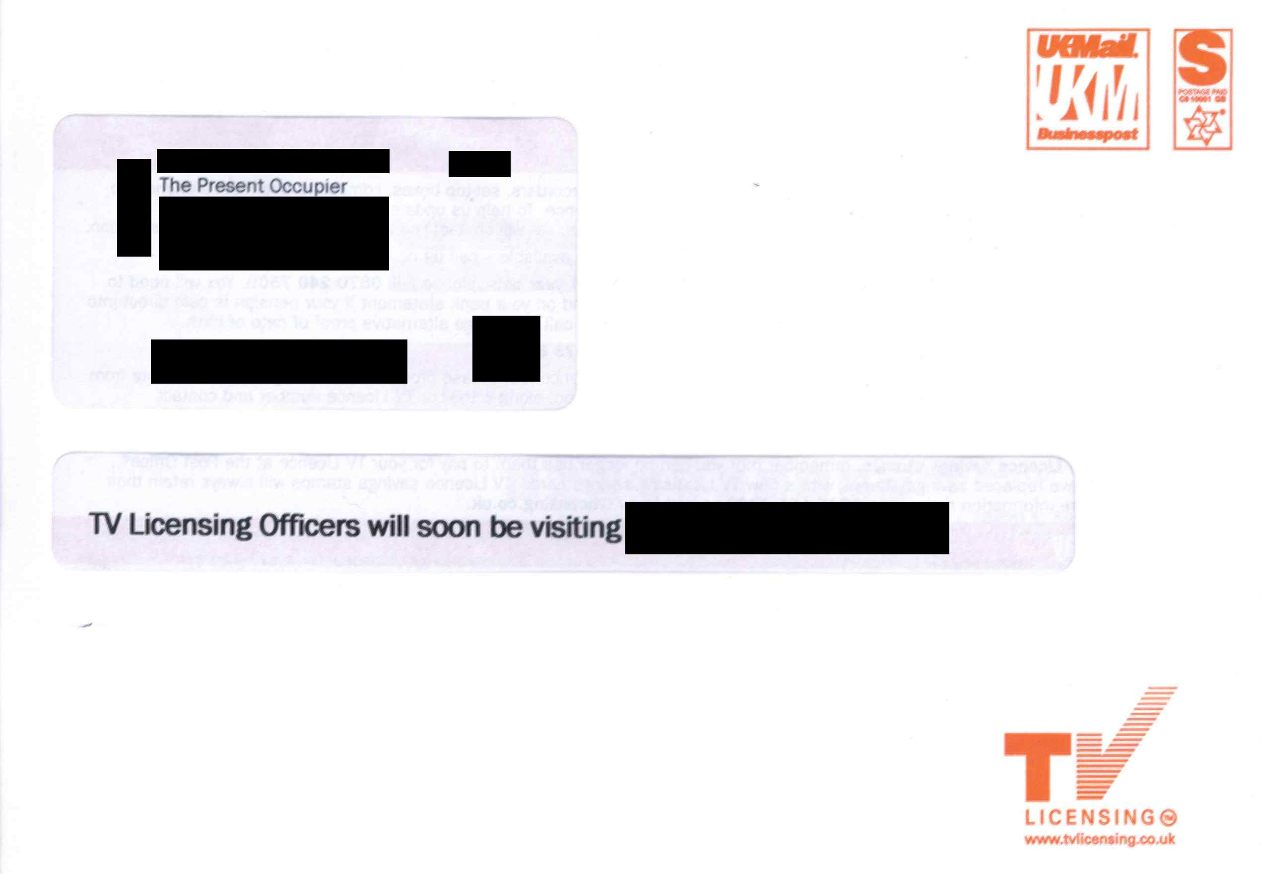 TVL window envelope